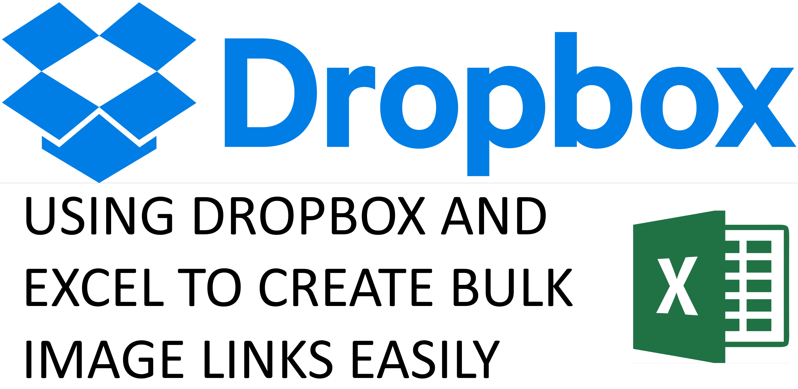 How to make Dropbox image links in bulk?