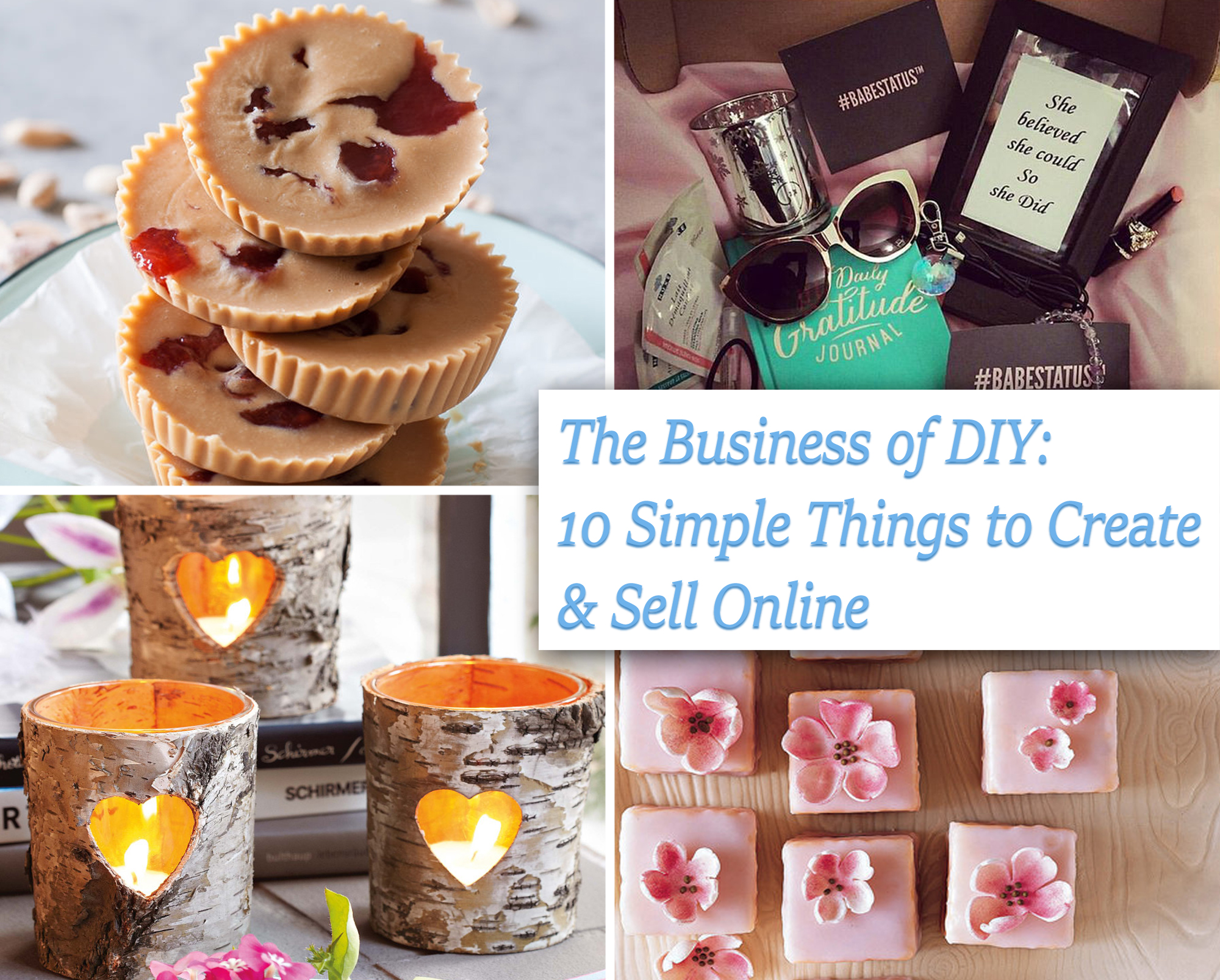 The business of DIY: 10 simple things to create and sell online